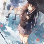 【二次・ZIP】雨の季節になるから傘と美少女の2次画像まとめ