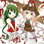【二次・ZIP】クリスマス衣装の虹美少女画像をください