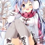 【二次・ZIP】暖かそうなイヤーマフ付けてる虹美少女の画像まとめ