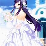 【二次・ZIP】花嫁さんとして来て欲しいウェディングドレス姿の美少女画像