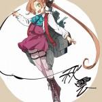 【二次・ZIP】お絵描き女子な艦これ秋雲先生の画像まとめ100枚