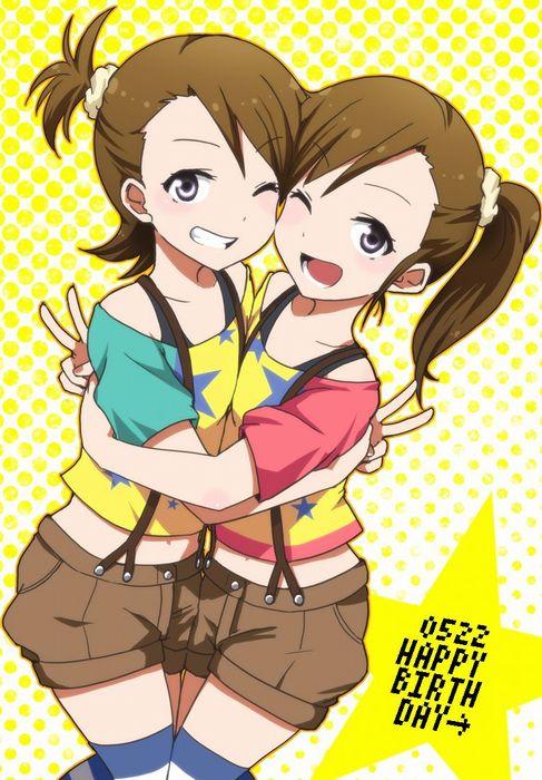 【二次・ZIP】イタズラ双子のアイマス双海亜美真美ちゃんの可愛い画像まとめ