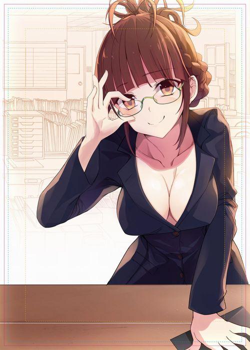 【二次・ZIP】メガネ美少女の2次画像まとめ