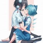 【二次・ZIP】可愛い女の子達が百合レズってる虹画像