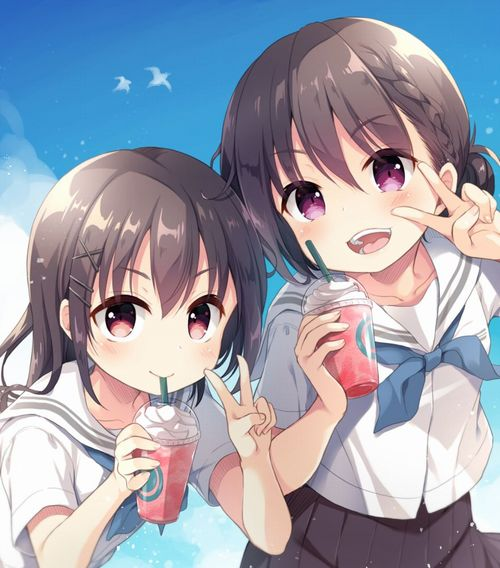 【二次・ZIP】制服姿のカワイイ女の子の2次画像