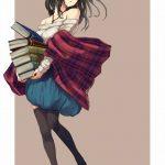 【二次・ZIP】本のお姉ちゃん、デレマス鷺沢文香ちゃんの可愛い画像まとめ100枚