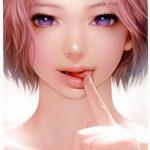 【二次】舌を出して誘惑してくる美少女の興奮する画像